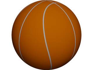 Basketball CAD 3D Model