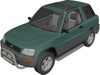 Toyota RAV4 (1994) 3D Model