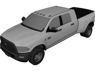 Dodge Ram 3500 Heavy Duty Mega Cab (2009) 3D Model