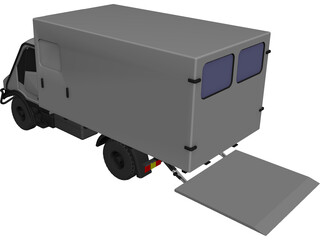 Bremach CAD 3D Model