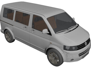 Volkswagen Multivan 3D Model