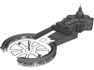 Vatican Cathedral 3D Model