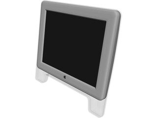 Apple iMac Monitor 3D Model
