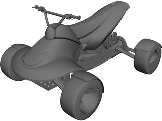 Quad Concept [NURBS] 3D Model