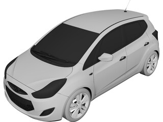 Hyundai ix20 3D Model