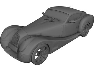 Morgan Aero Super Sports 3D Model