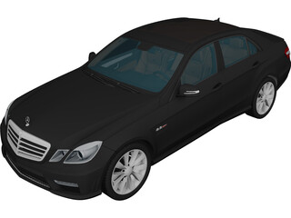 Mercedes-Benz E-Class 63 AMG (W212) 3D Model