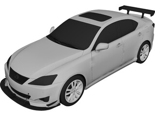 Lexus IS350 (2006) 3D Model
