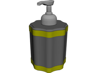 Bottle Dispenser 3D Model