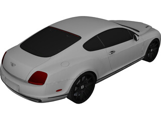Bentley Continental SS (2010) 3D Model