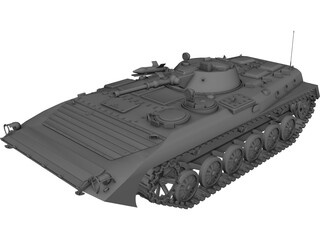 BMP Battle Infantry Vehicle 3D Model