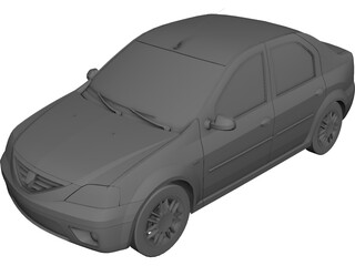 Renault/Dacia Logan (2005) 3D Model