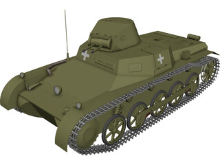 Panzer I 3D Model 3D Preview