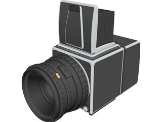 Hasselblad 503cw 3D Model