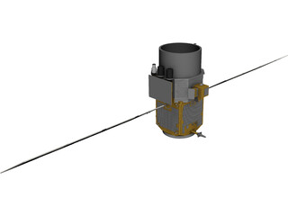 Satellite Calipso 3D Model