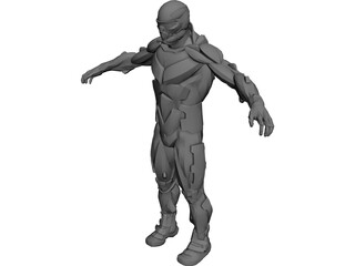 Nanosuit Crysis 3D Model