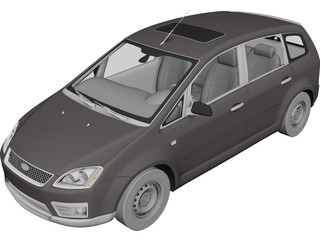 Ford Focus C-Max 3D Model