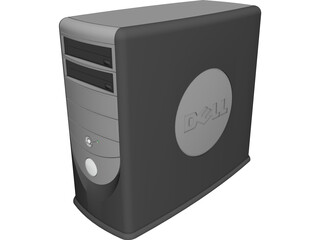 Dell Workstation CAD 3D Model