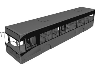Van Hool A300 Bus Body 3D Model