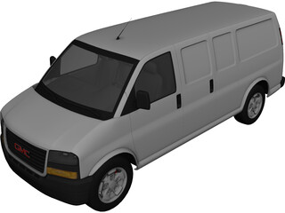 GMC Savana 3D Model