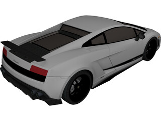 Lamborghini Gallardo LP570-4 Superleggera (2011) 3D Model