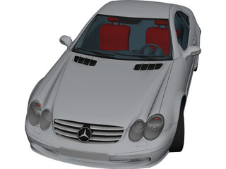 Mercedes-Benz SL55 AMG 3D Model