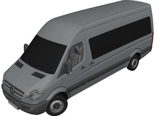 Mercedes-Benz Sprinter (2011) 3D Model
