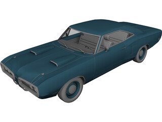 Dodge Coronet Super Bee (1970) 3D Model