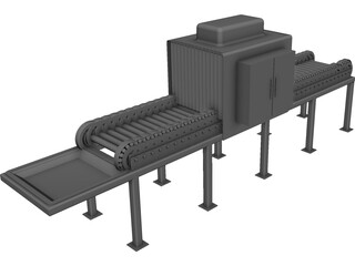 Conveyor CAD 3D Model