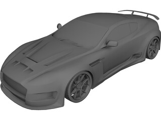 Aston Martin DB9 [Tuned] 3D Model