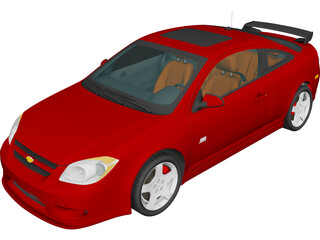 Chevrolet Cobalt SS 3D Model 3D Preview