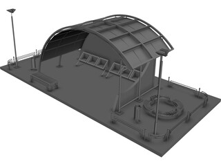 Building Compound 3D Model