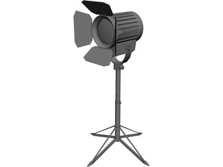Studio Light 3D Model