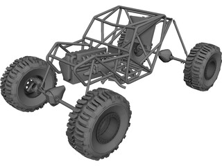 Proto Tube Rock Crawler Chassis 3D Model