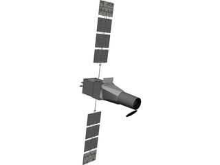 COROT Satellite 3D Model