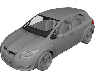 Toyota Auris 3D Model