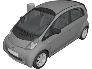 Mitsubishi i-MiEV Electric Vehicle 3D Model