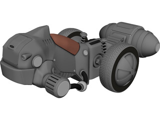 Apeiron Concept Vehicle 3D Model