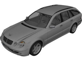 Mercedes-Benz E400 Wagon 3D Model