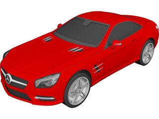 Mercedes-Benz SL R231 3D Model