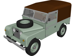 Land Rover Series I 3D Model