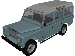 Land Rover Series III 109 3D Model
