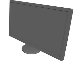 Monitor 27 inch CAD 3D Model