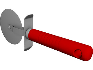 Pizza Cutter CAD 3D Model