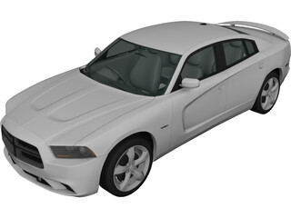 Dodge Charger (2011) 3D Model 3D Preview
