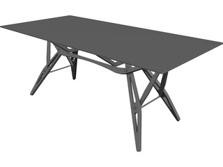 Zanotta Reale Table 3D Model
