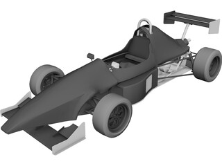 JRC FJ1000 Race Car 3D Model