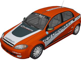 Chevrolet Lacetti (2010) 3D Model