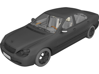 Mercedes-Benz S-Class 3D Model