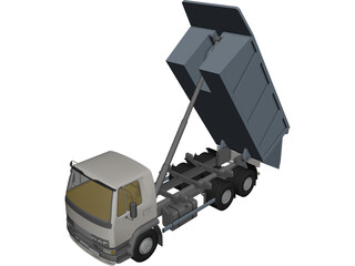 DAF Tipper Truck 3D Model